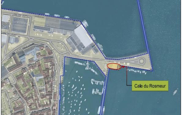 port_DZ_cale_Rosmeur_plan